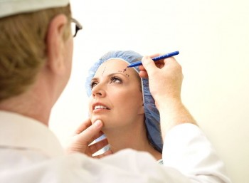 Operasjonsforløpet ved ansiktsløfting